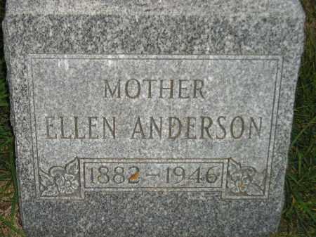ANDERSON, ELLEN - Miner County, South Dakota | ELLEN ANDERSON - South Dakota Gravestone Photos