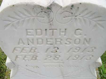 ANDERSON, EDITH C. - Miner County, South Dakota   EDITH C. ANDERSON - South Dakota Gravestone Photos