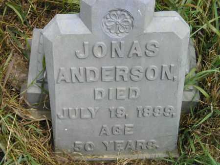 ANDERSON, JONAS - Miner County, South Dakota | JONAS ANDERSON - South Dakota Gravestone Photos