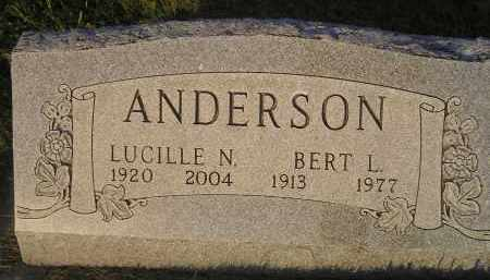 ANDERSON, LUCILLE N. - Miner County, South Dakota | LUCILLE N. ANDERSON - South Dakota Gravestone Photos