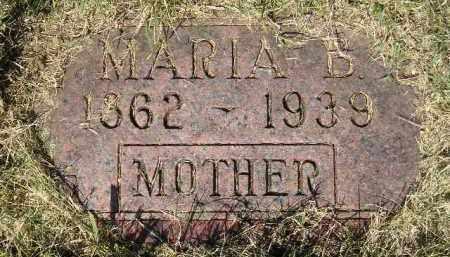 ANDERSON, MARIA B. - Miner County, South Dakota | MARIA B. ANDERSON - South Dakota Gravestone Photos