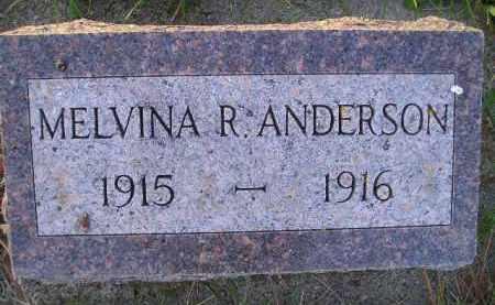 ANDERSON, MELVINA R. - Miner County, South Dakota | MELVINA R. ANDERSON - South Dakota Gravestone Photos