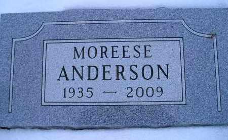 ANDERSON, MOREESE - Miner County, South Dakota | MOREESE ANDERSON - South Dakota Gravestone Photos