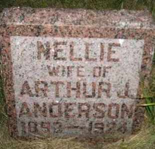 ANDERSON, NELLIE - Miner County, South Dakota | NELLIE ANDERSON - South Dakota Gravestone Photos