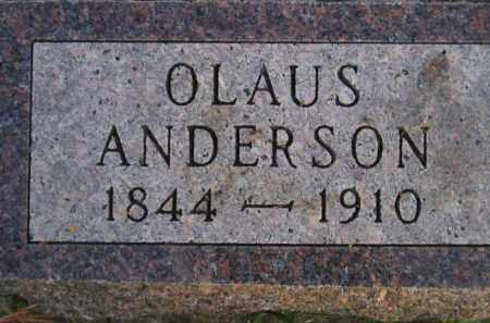 ANDERSON, OLAUS - Miner County, South Dakota | OLAUS ANDERSON - South Dakota Gravestone Photos