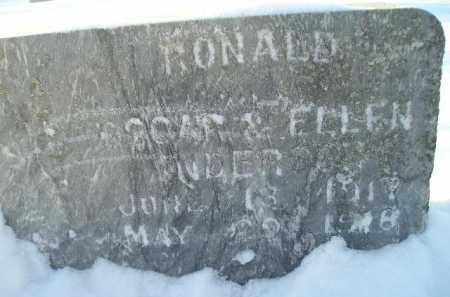 ANDERSON, RONALD - Miner County, South Dakota   RONALD ANDERSON - South Dakota Gravestone Photos