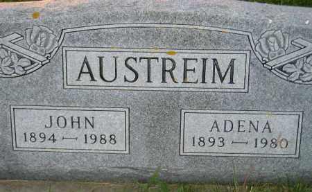AUSTREIM, JOHN - Miner County, South Dakota | JOHN AUSTREIM - South Dakota Gravestone Photos