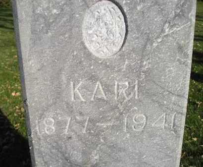 BERGSETH, KARI - Miner County, South Dakota   KARI BERGSETH - South Dakota Gravestone Photos