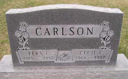 CARLSON, CECIL C. - Miner County, South Dakota | CECIL C. CARLSON - South Dakota Gravestone Photos