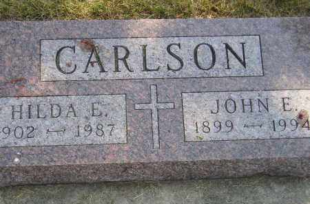 CARLSON, JOHN E. - Miner County, South Dakota | JOHN E. CARLSON - South Dakota Gravestone Photos