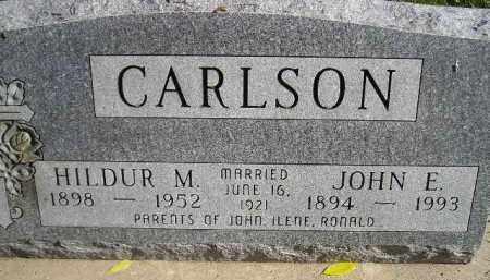 CARLSON, HILDUR M. - Miner County, South Dakota | HILDUR M. CARLSON - South Dakota Gravestone Photos