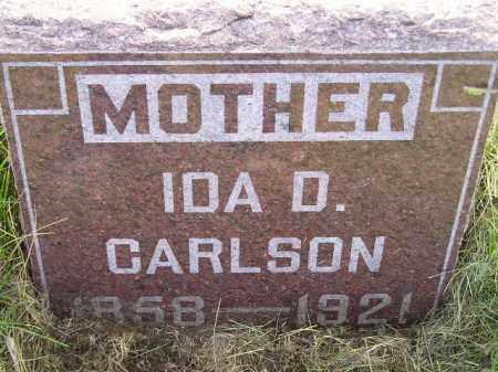 CARLSON, IDA D. - Miner County, South Dakota | IDA D. CARLSON - South Dakota Gravestone Photos