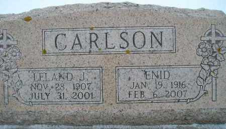 CARLSON, ENID - Miner County, South Dakota | ENID CARLSON - South Dakota Gravestone Photos