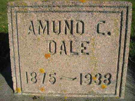 DALE, AMUND C. - Miner County, South Dakota | AMUND C. DALE - South Dakota Gravestone Photos