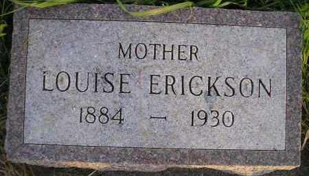 ERICKSON, LOUISE - Miner County, South Dakota | LOUISE ERICKSON - South Dakota Gravestone Photos