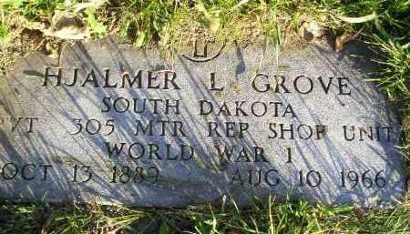 GROVE, HJALMER L. (WW I) - Miner County, South Dakota | HJALMER L. (WW I) GROVE - South Dakota Gravestone Photos