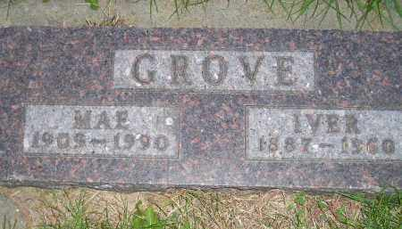 GROVE, IVER - Miner County, South Dakota | IVER GROVE - South Dakota Gravestone Photos