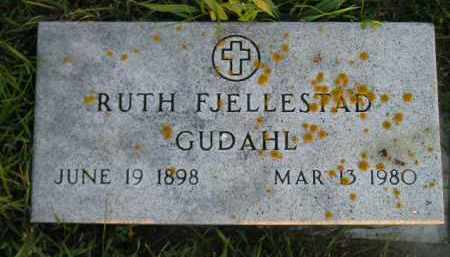 FJELLESTAD GUDAHL, RUTH - Miner County, South Dakota | RUTH FJELLESTAD GUDAHL - South Dakota Gravestone Photos