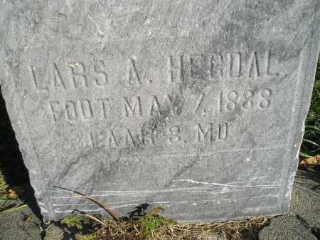 HEGDAL, LARS A. - Miner County, South Dakota   LARS A. HEGDAL - South Dakota Gravestone Photos