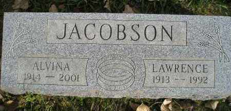 JACOBSON, LAWRENCE - Miner County, South Dakota | LAWRENCE JACOBSON - South Dakota Gravestone Photos