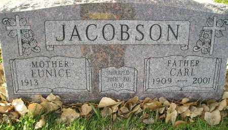 JACOBSON, CARL - Miner County, South Dakota | CARL JACOBSON - South Dakota Gravestone Photos