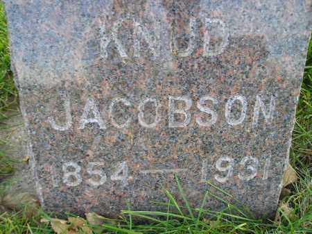 JACOBSON, KNUD - Miner County, South Dakota   KNUD JACOBSON - South Dakota Gravestone Photos