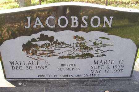 JACOBSON, WALLACE E. - Miner County, South Dakota | WALLACE E. JACOBSON - South Dakota Gravestone Photos
