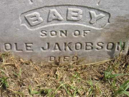 JAKOBSON, BABY SON - Miner County, South Dakota | BABY SON JAKOBSON - South Dakota Gravestone Photos
