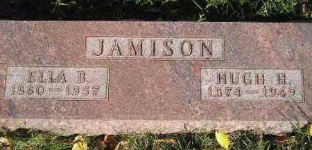 JAMISON, HUGH H. - Miner County, South Dakota | HUGH H. JAMISON - South Dakota Gravestone Photos