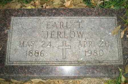 JERLOW, EARL T. - Miner County, South Dakota | EARL T. JERLOW - South Dakota Gravestone Photos