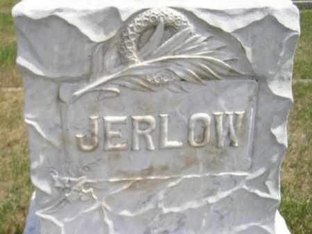 JERLOW, FAMILY STONE - Miner County, South Dakota | FAMILY STONE JERLOW - South Dakota Gravestone Photos