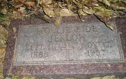 JERLOW, MOLLIE (AMELIA) EIDE - Miner County, South Dakota   MOLLIE (AMELIA) EIDE JERLOW - South Dakota Gravestone Photos
