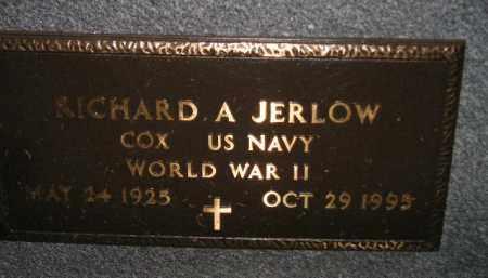 JERLOW, RICHARD A. (WW II) - Miner County, South Dakota | RICHARD A. (WW II) JERLOW - South Dakota Gravestone Photos