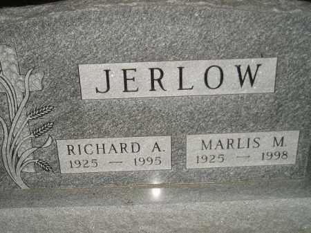 JERLOW, RICHARD A. - Miner County, South Dakota | RICHARD A. JERLOW - South Dakota Gravestone Photos