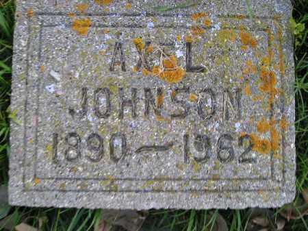 JOHNSON, AXEL - Miner County, South Dakota   AXEL JOHNSON - South Dakota Gravestone Photos