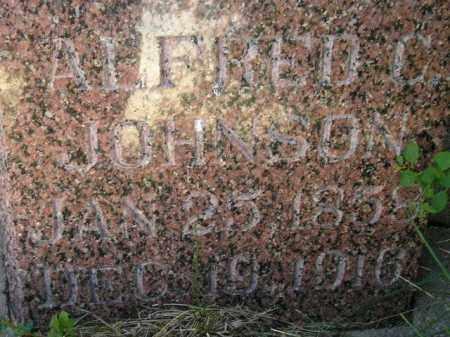 JOHNSON, ALFRED C. - Miner County, South Dakota | ALFRED C. JOHNSON - South Dakota Gravestone Photos