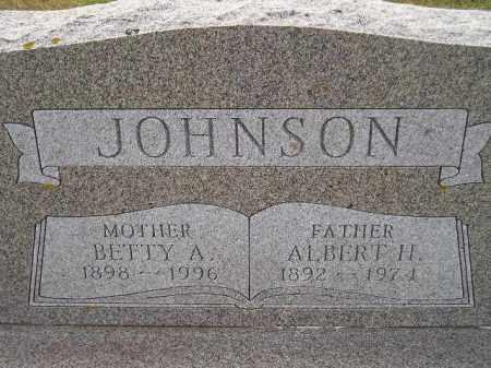 JOHNSON, BETTY A. - Miner County, South Dakota | BETTY A. JOHNSON - South Dakota Gravestone Photos