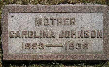 JOHNSON, CAROLINA - Miner County, South Dakota | CAROLINA JOHNSON - South Dakota Gravestone Photos