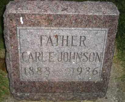 JOHNSON, CARL E. - Miner County, South Dakota | CARL E. JOHNSON - South Dakota Gravestone Photos