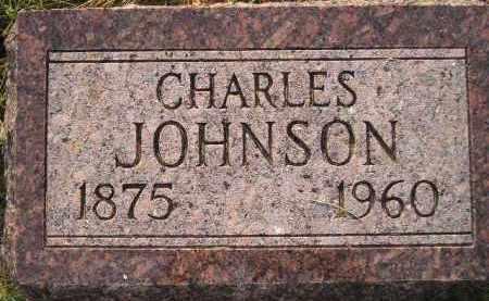 JOHNSON, CHARLES - Miner County, South Dakota | CHARLES JOHNSON - South Dakota Gravestone Photos