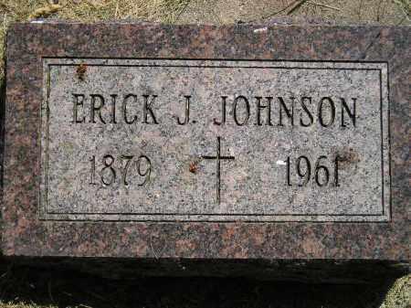 JOHNSON, ERICK J. - Miner County, South Dakota   ERICK J. JOHNSON - South Dakota Gravestone Photos