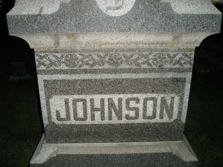 JOHNSON, FAMILY STONE - Miner County, South Dakota | FAMILY STONE JOHNSON - South Dakota Gravestone Photos