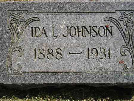 JOHNSON, IDA L. - Miner County, South Dakota | IDA L. JOHNSON - South Dakota Gravestone Photos