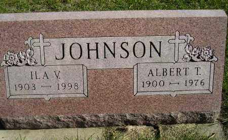 JOHNSON, ILA V. - Miner County, South Dakota | ILA V. JOHNSON - South Dakota Gravestone Photos
