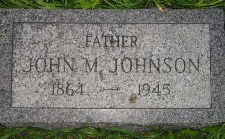 JOHNSON, JOHN M. - Miner County, South Dakota   JOHN M. JOHNSON - South Dakota Gravestone Photos