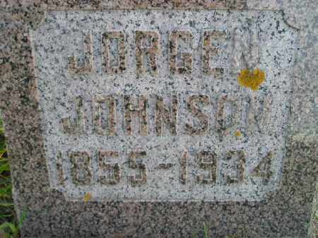 JOHNSON, JORGEN - Miner County, South Dakota | JORGEN JOHNSON - South Dakota Gravestone Photos