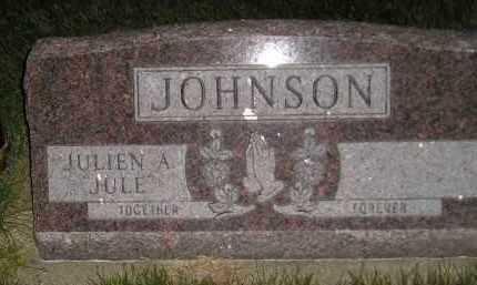 "JOHNSON, JULIEN A. ""JULE"" - Miner County, South Dakota | JULIEN A. ""JULE"" JOHNSON - South Dakota Gravestone Photos"