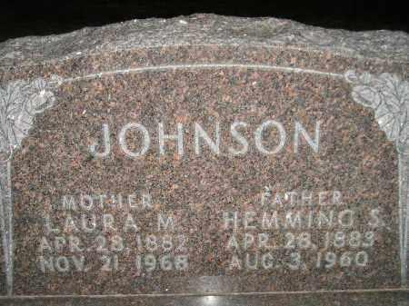JOHNSON, HEMMING S. - Miner County, South Dakota | HEMMING S. JOHNSON - South Dakota Gravestone Photos