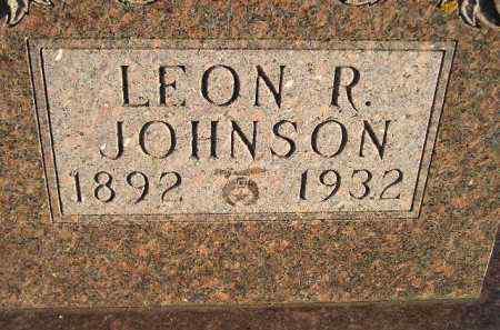 JOHNSON, LEON R. - Miner County, South Dakota   LEON R. JOHNSON - South Dakota Gravestone Photos