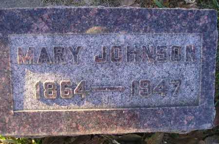 JOHNSON, MARY - Miner County, South Dakota   MARY JOHNSON - South Dakota Gravestone Photos